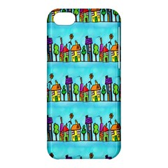 Colourful Street A Completely Seamless Tile Able Design Apple Iphone 5c Hardshell Case by Nexatart