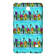 Colourful Street A Completely Seamless Tile Able Design Samsung Galaxy Tab 4 (8 ) Hardshell Case  by Nexatart