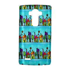 Colourful Street A Completely Seamless Tile Able Design Lg G4 Hardshell Case by Nexatart