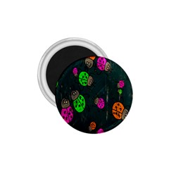 Cartoon Grunge Beetle Wallpaper Background 1 75  Magnets by Nexatart