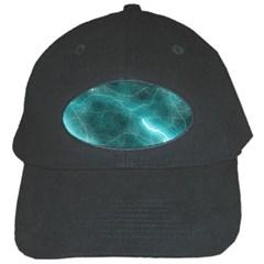 Light Web Colorful Web Of Crazy Lightening Black Cap by Nexatart