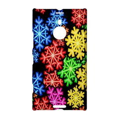 Colourful Snowflake Wallpaper Pattern Nokia Lumia 1520 by Nexatart