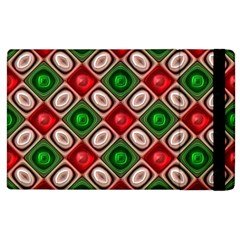 Gem Texture A Completely Seamless Tile Able Background Design Apple Ipad 2 Flip Case by Nexatart