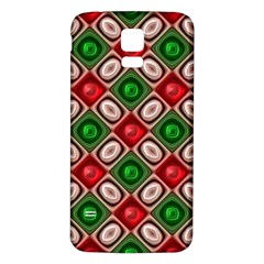 Gem Texture A Completely Seamless Tile Able Background Design Samsung Galaxy S5 Back Case (white) by Nexatart