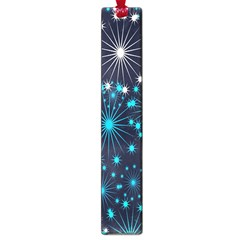 Digitally Created Snowflake Pattern Background Large Book Marks by Nexatart