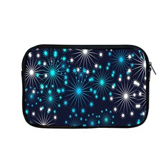 Digitally Created Snowflake Pattern Background Apple Macbook Pro 13  Zipper Case by Nexatart