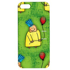 Party Kid A Completely Seamless Tile Able Design Apple Iphone 5 Hardshell Case With Stand by Nexatart