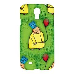 Party Kid A Completely Seamless Tile Able Design Samsung Galaxy S4 I9500/i9505 Hardshell Case by Nexatart