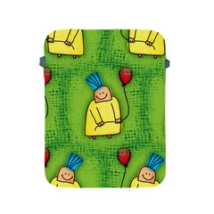 Party Kid A Completely Seamless Tile Able Design Apple Ipad 2/3/4 Protective Soft Cases by Nexatart