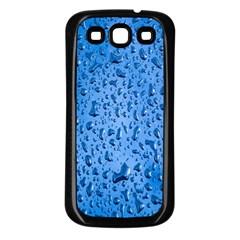 Water Drops On Car Samsung Galaxy S3 Back Case (black) by Nexatart