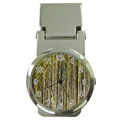 Bamboo Trees Background Money Clip Watches by Nexatart