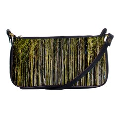 Bamboo Trees Background Shoulder Clutch Bags by Nexatart