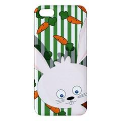 Easter Bunny  Iphone 5s/ Se Premium Hardshell Case by Valentinaart