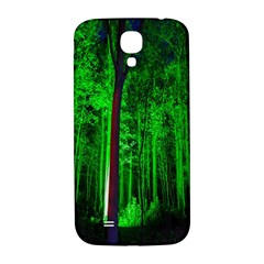 Spooky Forest With Illuminated Trees Samsung Galaxy S4 I9500/i9505  Hardshell Back Case