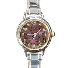 2000 Spirals Many Colorful Spirals Round Italian Charm Watch