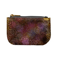 2000 Spirals Many Colorful Spirals Mini Coin Purses by Nexatart