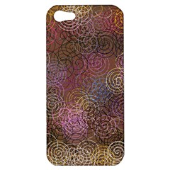2000 Spirals Many Colorful Spirals Apple Iphone 5 Hardshell Case by Nexatart