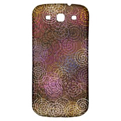 2000 Spirals Many Colorful Spirals Samsung Galaxy S3 S Iii Classic Hardshell Back Case by Nexatart