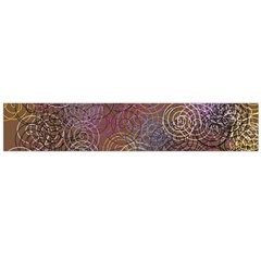 2000 Spirals Many Colorful Spirals Flano Scarf (large) by Nexatart