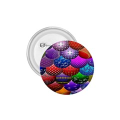 Fun Balls Pattern Colorful And Ornamental Balls Pattern Background 1 75  Buttons by Nexatart