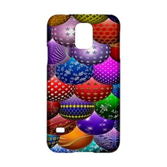 Fun Balls Pattern Colorful And Ornamental Balls Pattern Background Samsung Galaxy S5 Hardshell Case  by Nexatart
