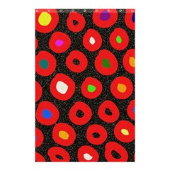 Polka Dot Texture Digitally Created Abstract Polka Dot Design Shower Curtain 48  X 72  (small)  by Nexatart