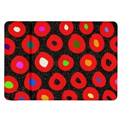 Polka Dot Texture Digitally Created Abstract Polka Dot Design Samsung Galaxy Tab 8 9  P7300 Flip Case by Nexatart