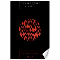 Albums By Twenty One Pilots Stressed Out Canvas 20  X 30   by Onesevenart