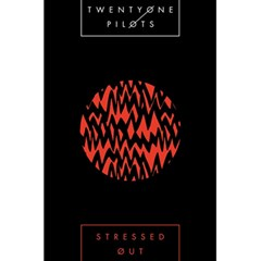 Albums By Twenty One Pilots Stressed Out 5 5  X 8 5  Notebooks by Onesevenart
