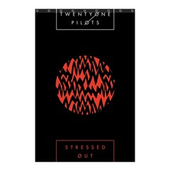 Albums By Twenty One Pilots Stressed Out Shower Curtain 48  X 72  (small)  by Onesevenart