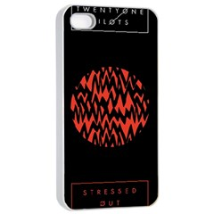 Albums By Twenty One Pilots Stressed Out Apple Iphone 4/4s Seamless Case (white) by Onesevenart