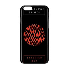 Albums By Twenty One Pilots Stressed Out Apple Iphone 6/6s Black Enamel Case by Onesevenart