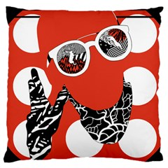Twenty One Pilots Poster Contest Entry Standard Flano Cushion Case (two Sides) by Onesevenart