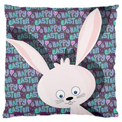 Easter Bunny  Standard Flano Cushion Case (two Sides) by Valentinaart