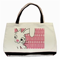 Easter Bunny  Basic Tote Bag by Valentinaart