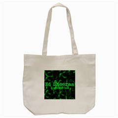 Bloodstream Single Ed Sheeran Tote Bag (cream) by Onesevenart