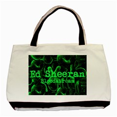 Bloodstream Single Ed Sheeran Basic Tote Bag by Onesevenart