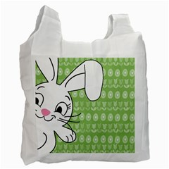 Easter bunny  Recycle Bag (One Side) by Valentinaart