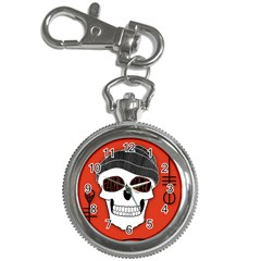 Poster Twenty One Pilots Skull Key Chain Watches by Onesevenart