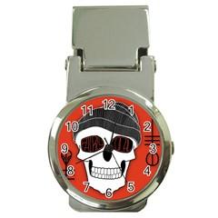 Poster Twenty One Pilots Skull Money Clip Watches by Onesevenart