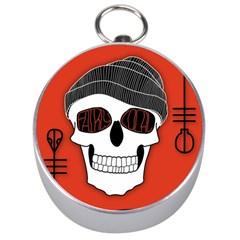 Poster Twenty One Pilots Skull Silver Compasses by Onesevenart