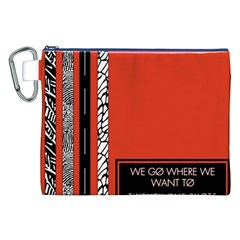 Poster Twenty One Pilots We Go Where We Want To Canvas Cosmetic Bag (xxl) by Onesevenart