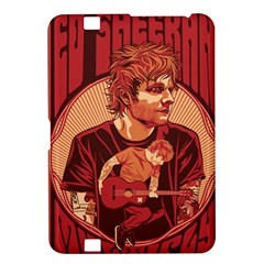 Ed Sheeran Illustrated Tour Poster Kindle Fire Hd 8 9  by Onesevenart