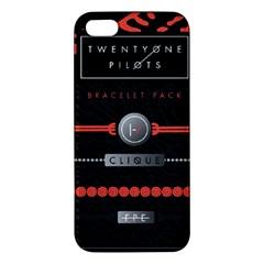 Twenty One Pilots Event Poster Iphone 5s/ Se Premium Hardshell Case by Onesevenart