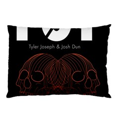 Twenty One Pilots Event Poster Pillow Case (two Sides) by Onesevenart