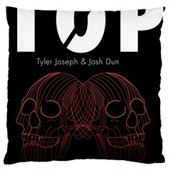 Twenty One Pilots Event Poster Large Cushion Case (two Sides) by Onesevenart