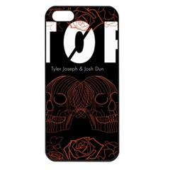 Twenty One Pilots Event Poster Apple Iphone 5 Seamless Case (black) by Onesevenart