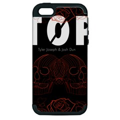 Twenty One Pilots Event Poster Apple Iphone 5 Hardshell Case (pc+silicone) by Onesevenart