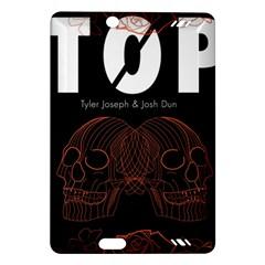 Twenty One Pilots Event Poster Amazon Kindle Fire Hd (2013) Hardshell Case by Onesevenart