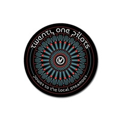 Twenty One Pilots Magnet 3  (round) by Onesevenart